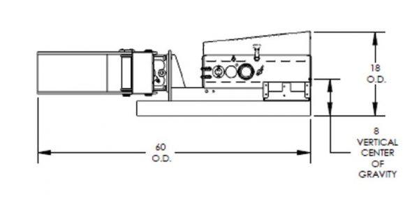 F89705 Maxi-Grip Forklift Drum Handler Drawing