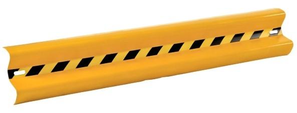 Vestil GR-H2R-BO-4-YL Powder Coated Guard Rail
