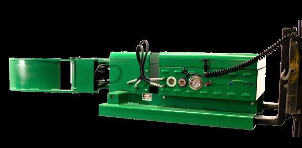 Versa Grip Battery Powered Forklift Drum Attachment