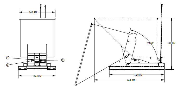 Valley Craft F89142 Hopper Drawing