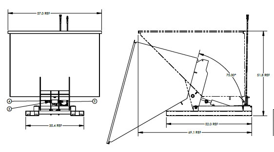 Valley Craft F89141 Hopper Drawing
