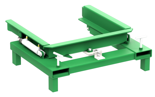 Valley Craft Forklift Attachment for Mobile Hoppers