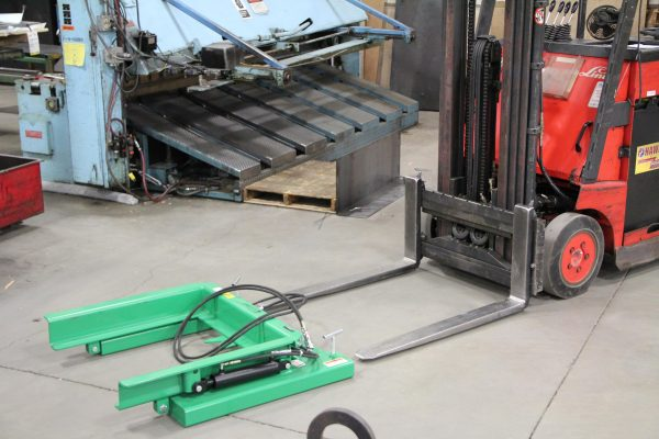 Valley Craft Forklift Attachment for Mobile Hopper
