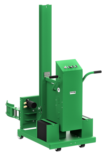 Valley Craft Powered Lift Drum Rotator