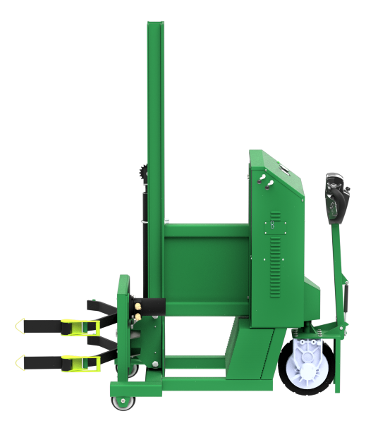 Valley Craft F89831A4 Rota-Lift Powered Drum Lifter