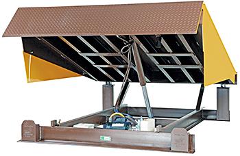 Vestil EH-78 Electric Dock Leveler