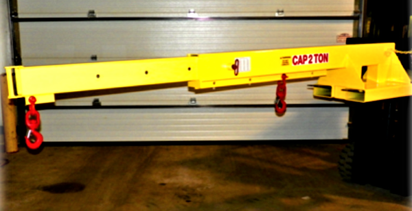 All Lift Telescoping Forklift Attachment