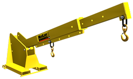 All Lift TLJP Orbital Forklift Boom Attachment
