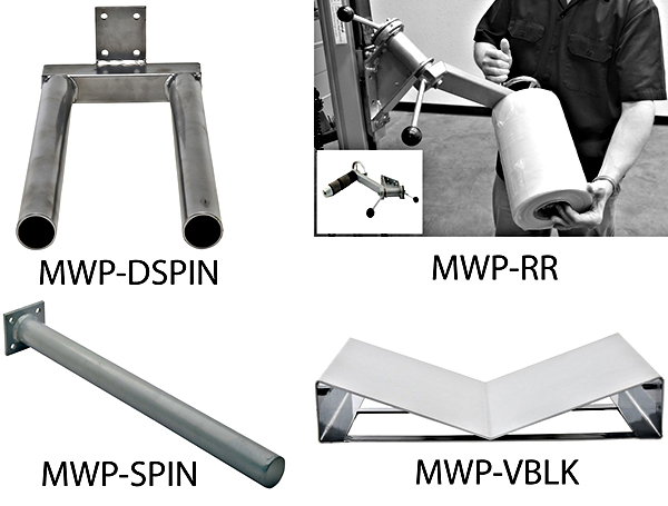 Vestil MWP Optional Attachments