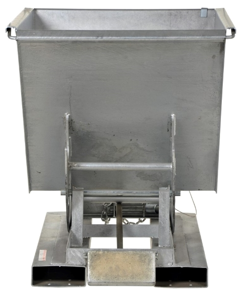 Galvanized Steel Forklift Hopper Attachment