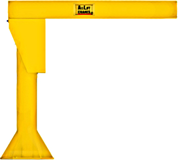 All Lift Heavy Duty Foundationless Jib Crane