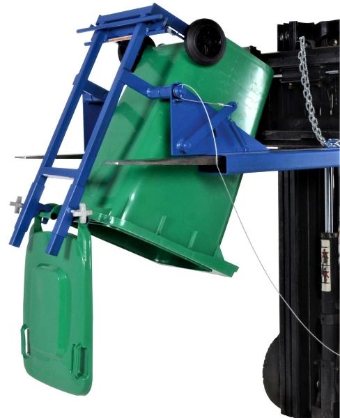 Vestil FM-T-DUMP Forklift Trash Can Dumper
