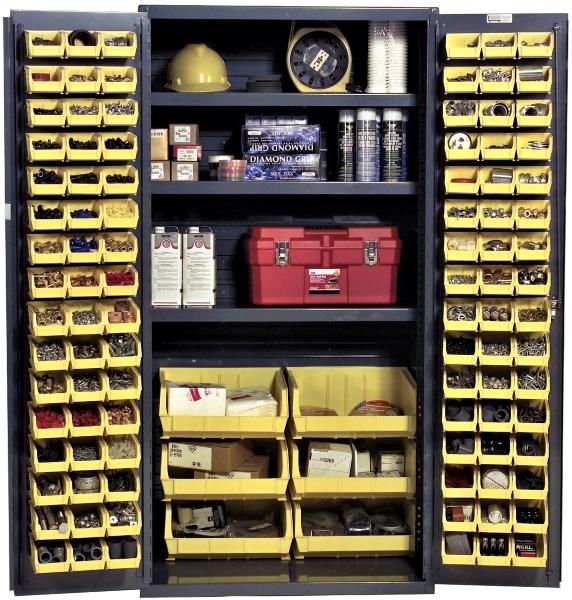 Vestil VSC-3501-102 Bin Storage Cabinet
