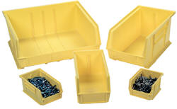 Optional Storage Bins