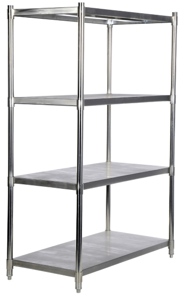 Vestil SSS-2448 Stainless Steel Shelving Unit