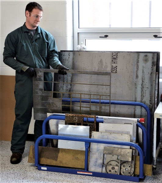 Vestil VHSR-4 Variable Height Sheet Rack