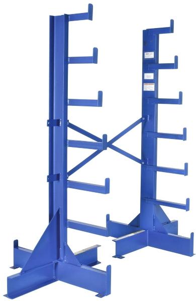 Vestil BAR-R-84-S Single Sided Bar Stock Rack