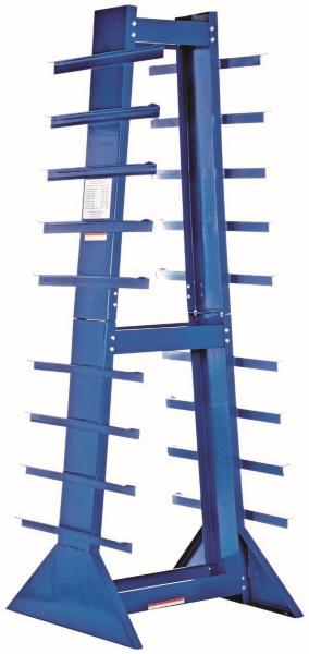 Vestil DSHZ-4 Double Sided Bar Rack
