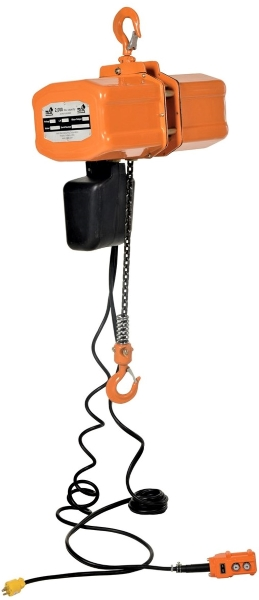 Vestil H-2000-1 1 Ton Electric Chain Hoist
