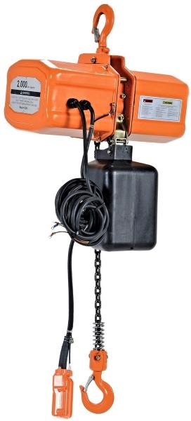 Vestil H-2000-3 1 Ton Electric Chain Hoist