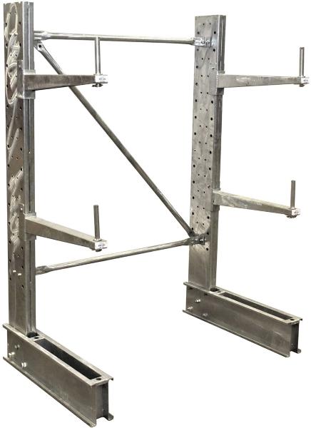 SU-C-6-24-G-SET Galvanized Cantilever Rack Kit