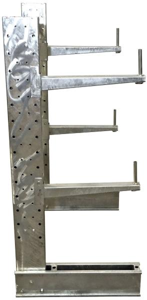 MU-C-6-24-G-SET Galvanized Cantilever Rack Kit