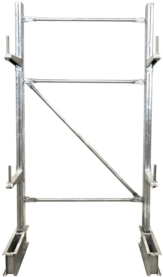 SU-C-8-24-G-SET 8' tall Cantilever Racking
