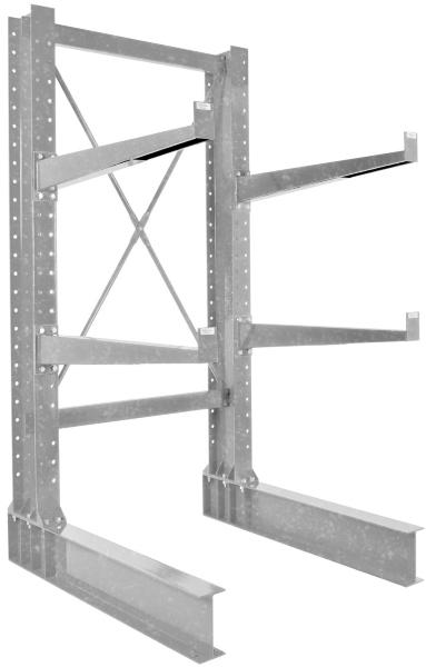 Vestil HU-C-8-36-G-SET Galvanized Cantilever Rack Kit
