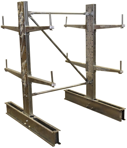 Vestil SDU-C-6-24-G-SET Galvanized Cantilever Rack Kit