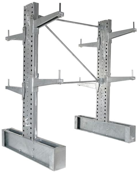 Vestil HDU-C-8-24-G-SET Cantilever Rack Kit