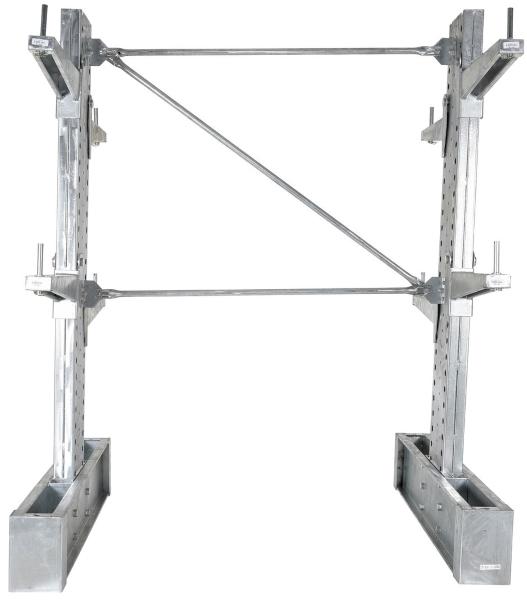 Vestil HDU-C-8-36-G-SET Galvanized Cantilever Racking