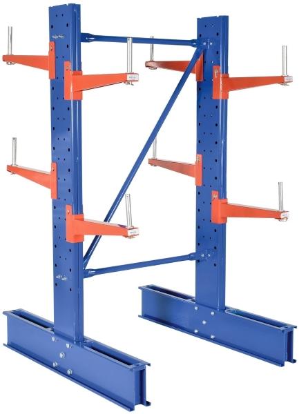 Vestil SDU-C-10 Series Double Sided Cantilever Racking