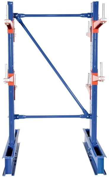 Vestil SDU-C-10-24 Customizable Double Sided Cantilever Racking