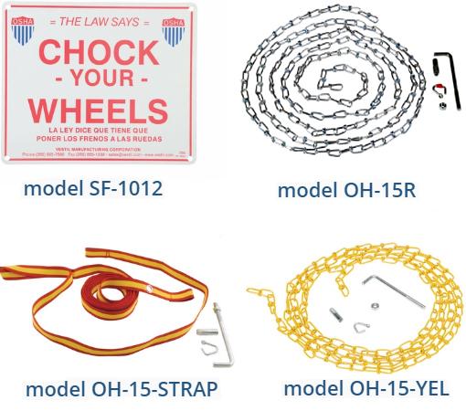 Optional Accessories for Wheel Chocks