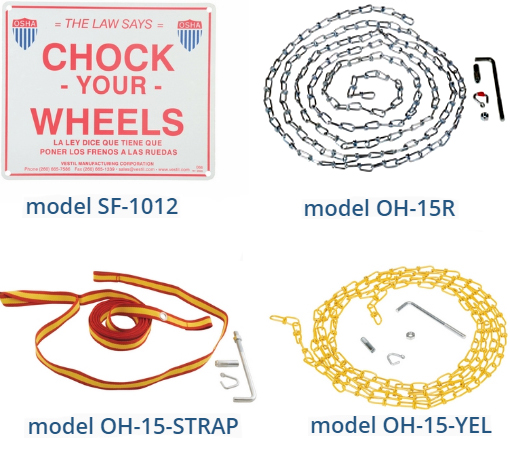 Optional Wheel Chock Accessories
