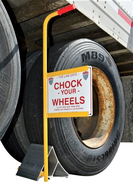 Vestil EALUM-HS Aluminum Wheel Chock
