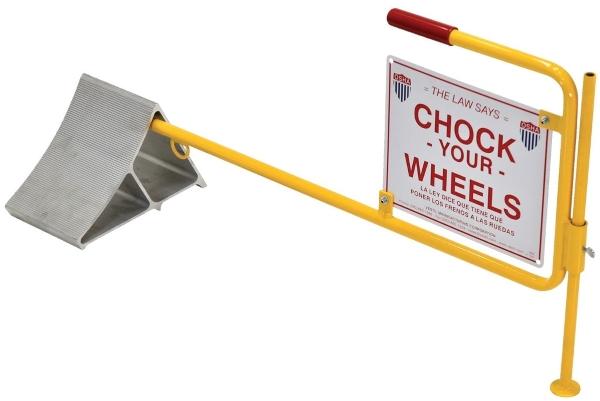 Vestil CWS-13 Aluminum Wheel Chock