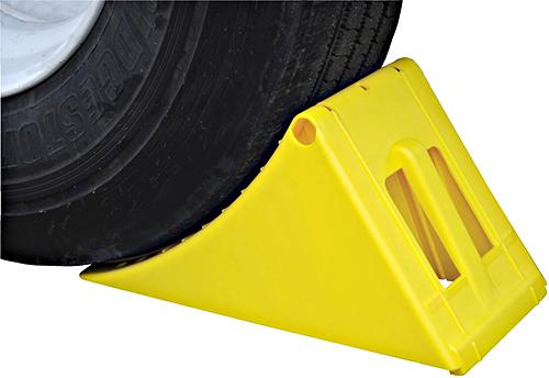 Vestil PLWC-Y Plastic Wheel Chock