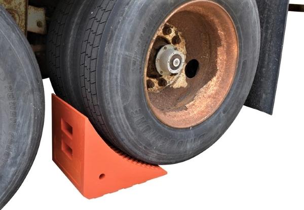 Vestil URWC-25 Urethane Wheel Chock