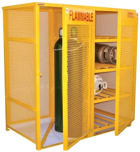 Vestil CYL-H8-V510 Cylinder Storage Cabinet