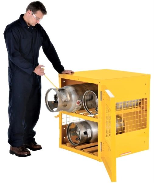 Vestil CYL-H-4 Cylinder Storage Cabinet