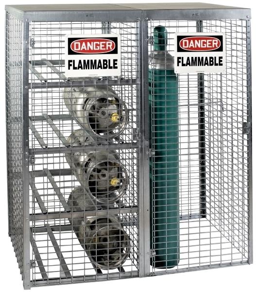 Vestil CYL-T-COMBO Galvanized Cylinder Rack