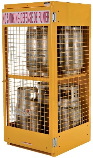 Vestil CYL-LP-8-CA Cylinder Storage Unit