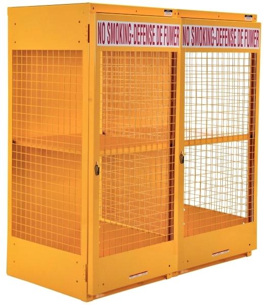 Vestil CYL-LP-16-CA Cylinder Storage Cabinet