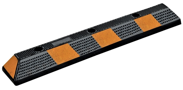 Vestil CS-33-BL-3 Rubber Parking Block