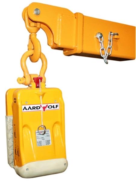 Aardwolf FB1-2720 Forklift Boom shown with AL Slab Lifter