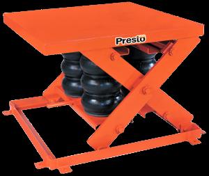 Presto AXS Pneumatic Lift Table