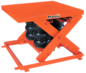 Presto AXS Heavy Duty Pneumatic Lift Table