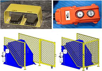 Optional Hand Control, Foot Control, & Gate Enclosure