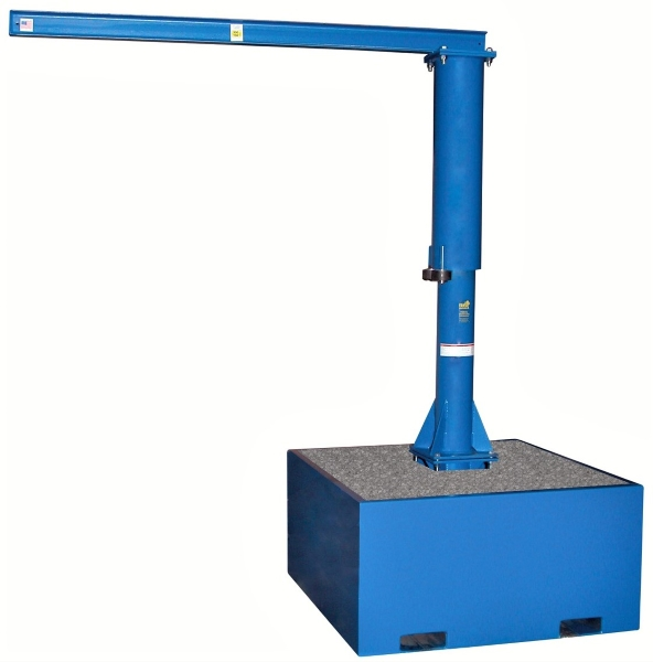 Vestil JIB-CB-25-10-10 Portable Jib Crane